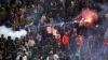 Incidente grave pe străzile din Roma! Fanii echipei AS Roma şi cei ai lui Napoli s-au bătut fără milă pe străzile capitalei