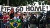 Proteste în Brazilia! Oamenii sunt nemulțumiți de costurile exagerate pentru organizarea Cupei Mondiale