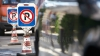 Un automobil cu numere diplomatice a fost parcat neregulamentar în capitală (FOTO)