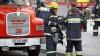 Incendiu la o fabrică de îngheţată din capitală (VIDEO)