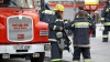 Pompierii, în alertă! Un incendiu a izbucnit într-un microbuz din capitală (VIDEO/FOTO)