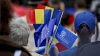 Ziua Europei, sărbătorită cu mare fast în Chişinău. Oamenii s-au delectat cu bucate tradiţionale, muzică şi dans (GALERIE FOTO)