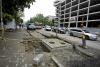 Strada Alecu Russo din capitală, transformată într-un şantier plin de noroi şi pietre (GALERIE FOTO)