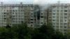 Incendiu într-un bloc din sectorul Ciocana. Pompierii au intervenit cu trei autospeciale (VIDEO)