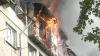 Apartamente distruse și locatari cu lacrimi în ochi. Bilanțul incendiului devastator de la Botanica (VIDEO)