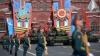 Demonstraţie de forţă şi spectacol aerian în Piaţa Roşie de la Moscova (VIDEO)