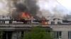 Fără casă şi fără masă! Victimele incendiului devastator, care a avut loc pe strada Independenţei, şi-au petrecut noaptea într-un internat din capitală