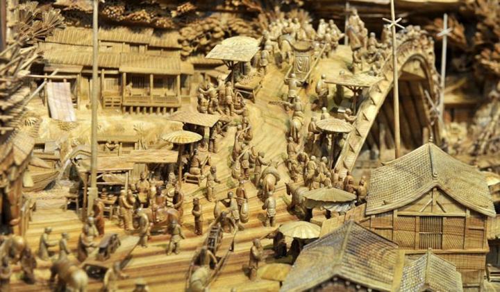 Un chinez a creat din lemn una dintre cele mai uimitoare opere de artă din lume (FOTO)