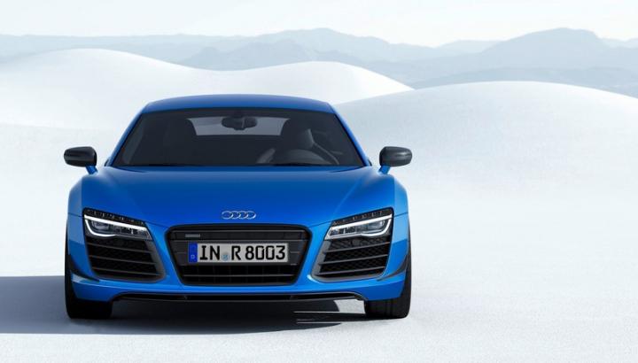 Audi loveşte BMW sub centură: Nu i8, ci R8 LMX este prima maşină de serie cu faruri laser (FOTO)