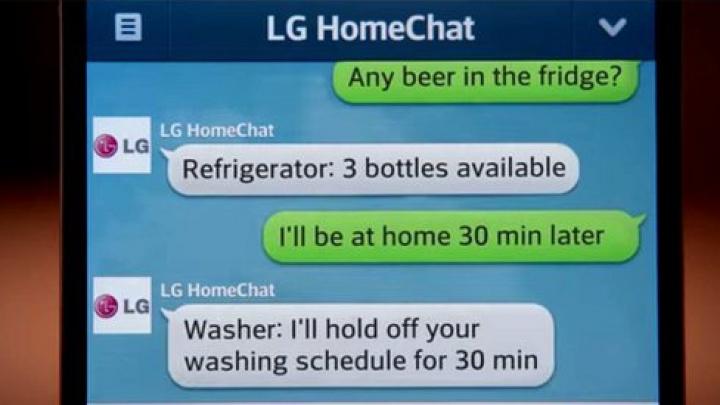 Ce-ai zice dacă ţi-ai consulta frigiderul ce trebuie să cumperi şi maşina de spălat când să se pună pe treabă?