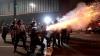 Sao Paolo, cuprins de violenţe. Poliţia a folosit gaze lacrimigene şi gloanţe de cauciuc pentru a dispersa mulţimile