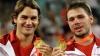 Elveţienii Federer şi Wawrinka, însoţiţi de succes la Marele Şlem