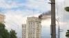 """Incendiu pe o clădire cu 16 etaje din sectorul Râşcani. """"Nimeni nu a avut de suferit"""" (VIDEO)"""