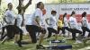 Campania Renaşte Moldova: Zeci de femei gravide au participat la o lecţie de sport (GALERIE FOTO)