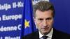 Comisarul European pentru Energie, Gunther Oettinger, va participa la ceremonia de dare în folosinţă a gazoductului Iaşi-Ungheni