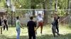 Distracţie şi voie bună pentru unii locuitori din Chişinău. Oamenii şi-au petrecut duminica în sânul naturii
