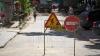 Scandalos. Patru microbuze de linie au fost surprinse circulând pe strada Columna ce este închisă pentru reparaţii (VIDEO)