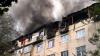 Primăria Chişinău a selectat firma care va reface acoperişul mansardei arse pe blocul de la Botanica