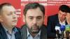 Portretele şi activitatea celor mai vrednici membri ai PCRM - Mark Tkaciuk, Grigore Petrenco şi Iurie Muntean