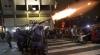 VIOLENŢE la Sao Paolo!  Poliţia a folosit gaze lacrimogene împotriva protestatarilor  înainte de startul Cupei Mondiale