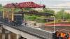 Calea ferată de pe noul pod din apropierea orașului Ghindești a fost redeschisă