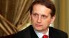 Serghei Narîşkin învinuieşte Ucraina de anexare ilegală a peninsulei Crimeea