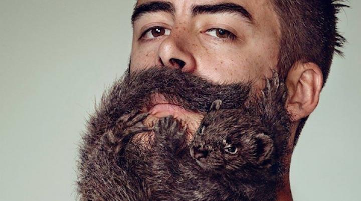 """""""Barba seamănă cu un animal"""". Cum încearcă o companie să convingă bărbaţii să se bărbierească (FOTO)"""