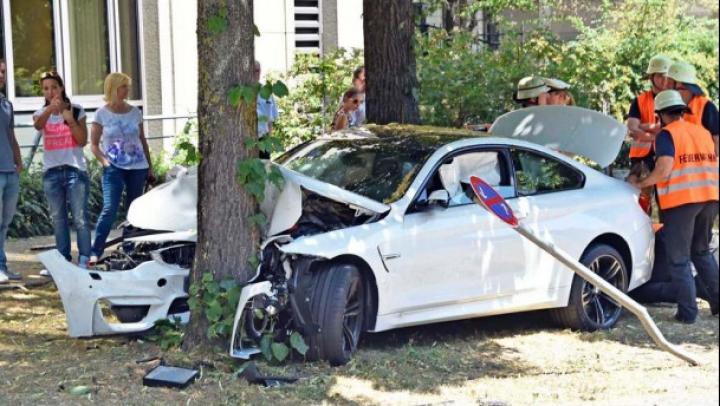 BMW M4 a suferit primul accident fatal chiar în Germania (FOTO)
