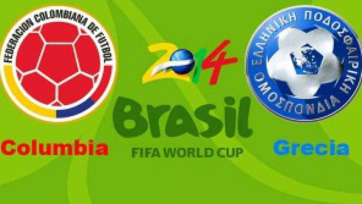 Grecia, umilită la Cupa Mondială! Selecționata elenă a pierdut meciul de debut în fața Columbiei