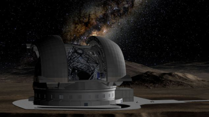 Un munte va fi aruncat în aer pentru construcţia celui mai mare telescop din lume. Imaginile pot fi urmărite LIVE