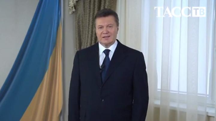 Fostul preşedinte de la Kiev iese la rampă şi cheamă la încetarea violenţelor (VIDEO)