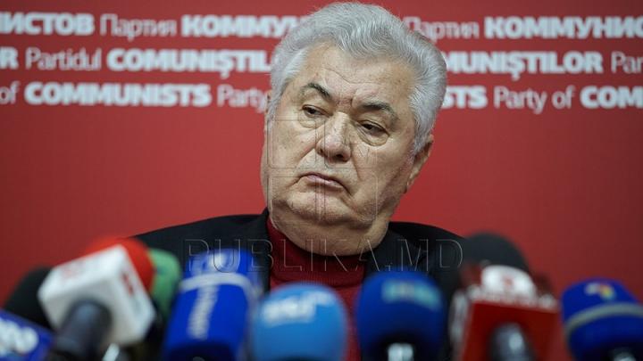 Vladimir Voronin susţine anexarea Crimeei la Rusia
