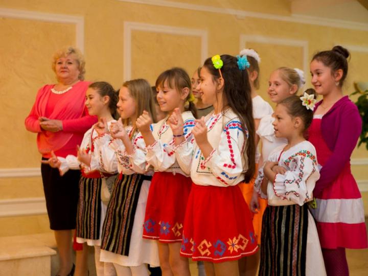 Copii din Transnistria, în vizită la preşedintele Nicolae Timofti (FOTO)
