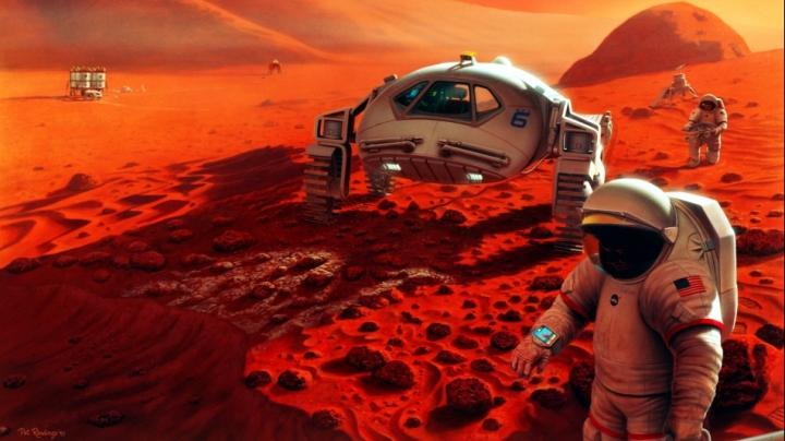 E oficial: NASA a dezvăluit data când va trimite oameni pe Marte