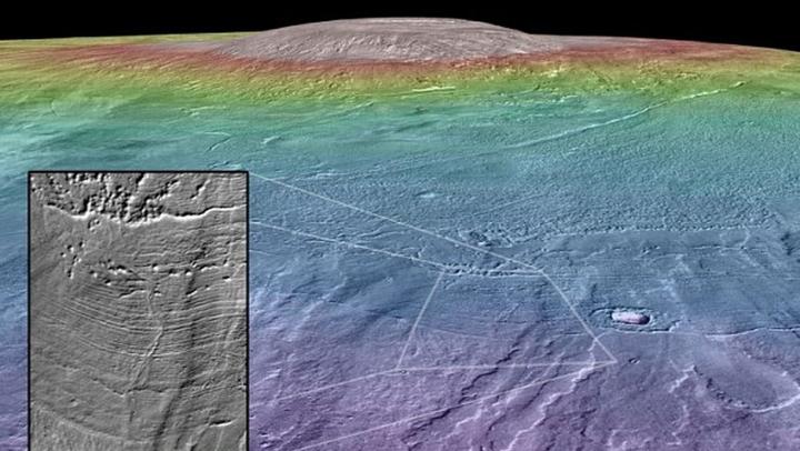 A existat viaţă pe Marte? Semnele care arată că aici erau lacuri pline cu apă (FOTO)