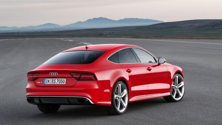 Audi a prezentat noul facelift pentru RS7 Sportback (FOTO)