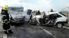 Accident grav în raionul Ungheni. Trei persoane au murit (VIDEO)