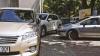SURPRIZĂ DE PROPORŢII! Ce a păţit un şofer care şi-a parcat maşina lângă un magazin de la Botanica (FOTO)