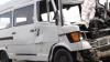 Accident tragic pe strada Calea Orheiului: Şoferul unui microbuz de mărfuri a murit