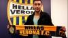 Artur Ioniţă a fost prezentat oficial suporterilor formaţiei Hellas Verona
