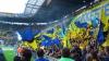 Haos în pauza meciului dintre Dnipro şi FC Copenhaga! Fanii ucraineni au sărit la bătaie la suporterii danezi