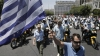 Grevă generală în Grecia. Oamenii protestează faţă de noi măsuri de austeritate