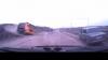 Erau cât pe ce să fie loviţi! Un accident rutier a fost suprins de o cameră de bord (VIDEO)