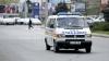 Accident în centrul capitalei! Un microbuz de pe ruta 113 a lovit un bărbat (FOTO)