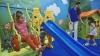 În incinta Aeroportului din Chişinău a fost inaugurat un teren de joacă pentru copii (GALERIE FOTO)