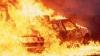 IMAGINI DE GROAZĂ pe traseul Nisporeni-Mileşti! Un martor a filmat cum arde maşina în care se aflau trei oameni (VIDEO EXCLUSIV)