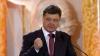 Petro Poroşenko: Noi vom merge înainte şi ne vom elibera pământul de toţi cei care îşi bat joc de oamenii simpli (VIDEO)