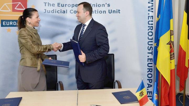 Procuratura Generală a semnat un acord de cooperare cu EUROJUST