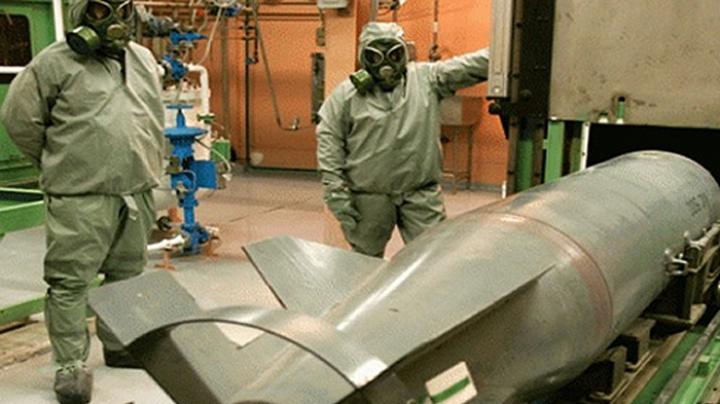 Procesul de transfer ale armelor chimice siriene către Statele Unite ale Americii s-a finalizat