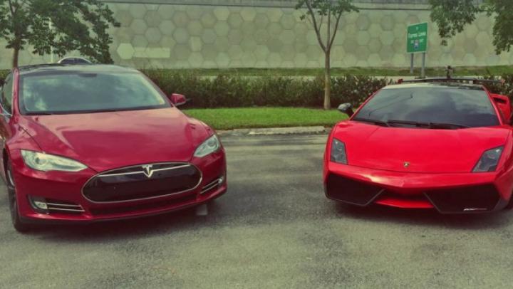 Cursă fierbinte între Tesla Model S şi Lamborghini Gallardo Super Trofeo Stradale. Cine va câştiga (VIDEO)